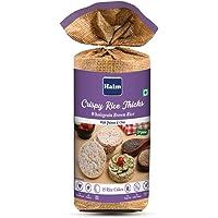 HAIM Organic Crispy Rice Thick Wholegrain Brown Rice Cake - Pack of 1 (Quinoa & Chia)