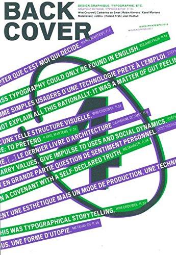 Back Cover, N° 4, Hiver-printemp :