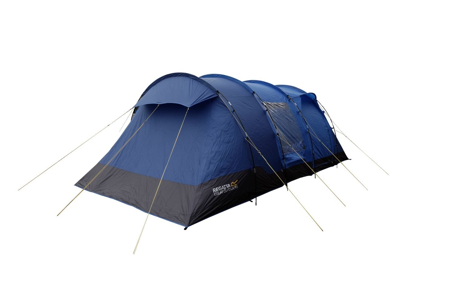 Regatta Karuna Vis-a Vis 6 Man Family Tunnel Tent Nautical/Laser Blue Spacious Darkened Bedroom 20 Minutes Pitching Time Waterproof Fire Retardant 6 Person ...  sc 1 st  Amazon UK & Regatta Karuna Vis-a Vis 6 Man Family Tunnel Tent Nautical/Laser ...