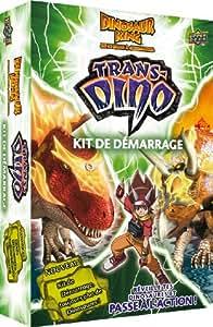 Dino King - DKTD01 - Jeu de cartes à jouer et à collectionner - Starter Trans-Dino