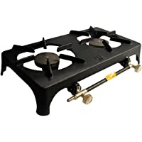 DOUBLE CAST IRON GAS BOILING RING - FOR USE WITH PROPANE OR BUTANE