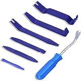 Randalfy Kit de Herramientas Desmontaje Coche, 7 Piezas Herramienta de Desmontar del Panel Frontal del Coche para Desmontar e
