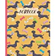 Notebook: Cute Black & Tan Dachshunds - Lined Notebook, Diary, Track, Log & Journal - Gift Idea for Boys Girls Teens Men Wome