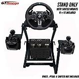 GT Omega PRO Supporto per Volante per Logitech G923 G29 G920 Thrustmaster T500 T300 TX Ruota da Corsa, Pedali,TH8A…