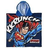Unbekannt Poncho Meer Superman DC Comics BADTUCH Micro Cotton cm. 100X50 - ER1734 / 1