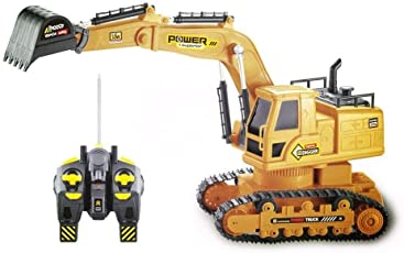 Remote Cotrol JCB Truck Toy for Your Little Engineer, Kids, Boys, Girls