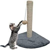 ADEPTNA Sturdy Durable Pet Cat Kitten Corner Sisal Scratching Pole Post Toy Scratches Play Activity