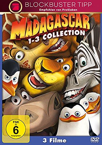 Bild von Madagascar / Madagascar 2 / Madagascar 3: Flucht durch Europa [3 DVDs]
