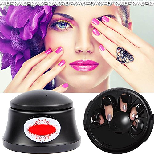 Funwill Outil de dissolvant de vernis à ongles gel - Vapeur Off Gel Système machine à ongles de salon de l'utilisation à domicile