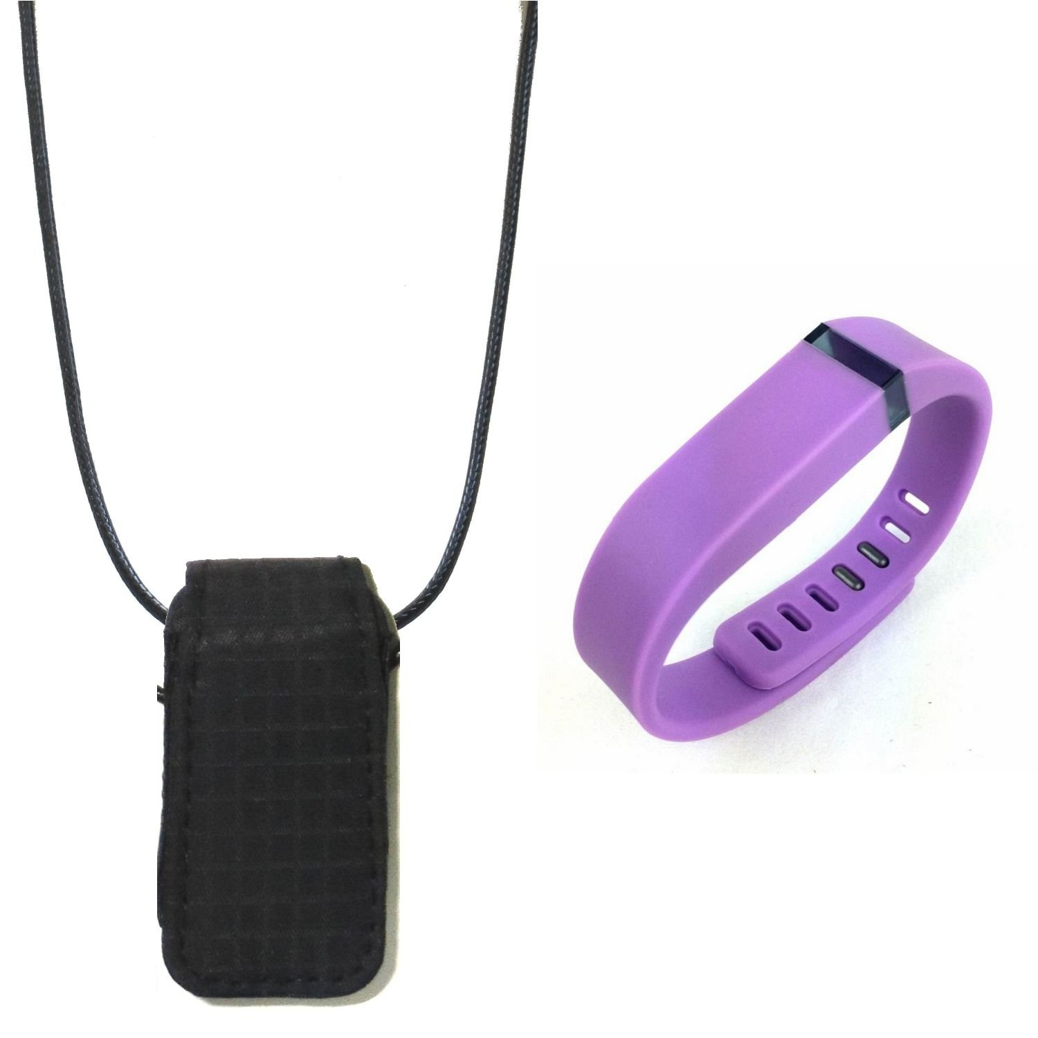 replacement band wristband for fitbit flex and Fashion fabric loop bra Pendant Necklace Holder pouch