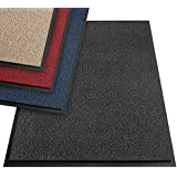 etm® Dirt Trapper Mat - Note 1.6: Sieger Value Door Mat in Various Sizes for Front Door Area - Interior and Exterior, 60 x 90 cm