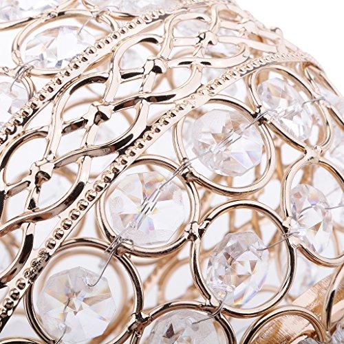 Baoblaze 3 Stücke Kristall Kerzenhalter Hochzeit Mittelstücke Leuchter Set Für Geburtstagsfeier Esstisch Dekorative - Kerzenhalter Esstisch