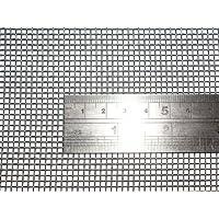 10 de alambre tejido de malla 60 cm x100 cm x2 mm grueso, gasa acero inoxidable 304L 61% área abierta