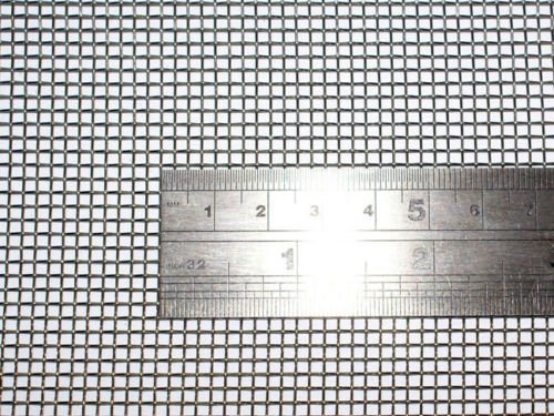 Geflochtenem Draht 10 Mesh 60 cm x100 cm x2 mm grob, Gaze Edelstahl 304L 61% Offene Bereich Mesh 10