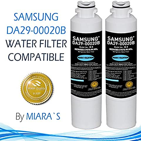 Samsung Da29-00020b Refrigerator Water Filter Replacement White by