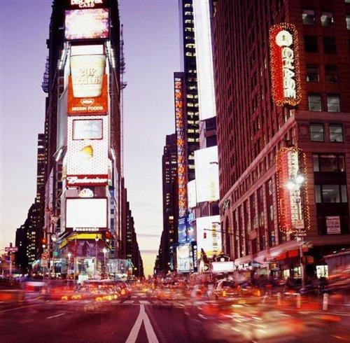 P111802–6–PAPEL PINTADO PHOTO TRIPTICO TIME SQUARE NYC