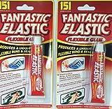 Lot de 2 tubes de glue élastique Fantastic Elastic - 20 g