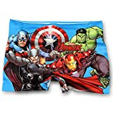Disney garçons Voitures Avengers sbires spiderman shorts de bain âge 2-11 ans
