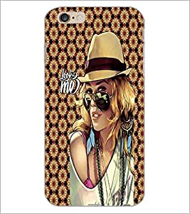 PrintDhaba Fantasy Girl D-6009 Back Case Cover for APPLE IPHONE 6 (Multi-Coloured)