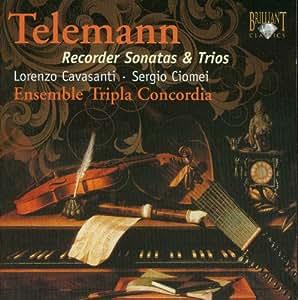 Telemann: Recorder Sonatas and Trios