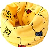 Bufanda BIGBOBA de puro algodón para niños. Bufanda calentadora de cuello para viajar al aire libre en otoño y en invierno
