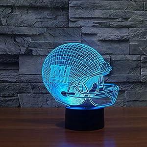 York Giants Led Tischlampe Neonschild Neu 3D Neon NFL USA 6 verschieden Farben by 3D Neon