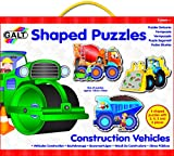 Galt Toys Shaped Puzzles, Construction Vehicles