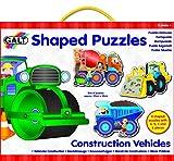 Galt Toys Shaped Puzzles, Construction Vehicles