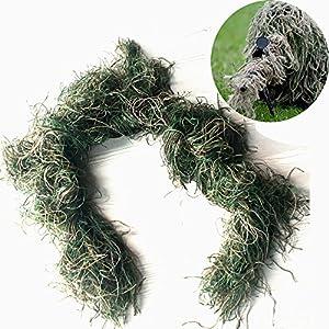 Guguluza 3d Fusil Pistolet Wraps Coque Utilisation Sangle élastique pour Camouflage forêt Chasse Ghillie Suit