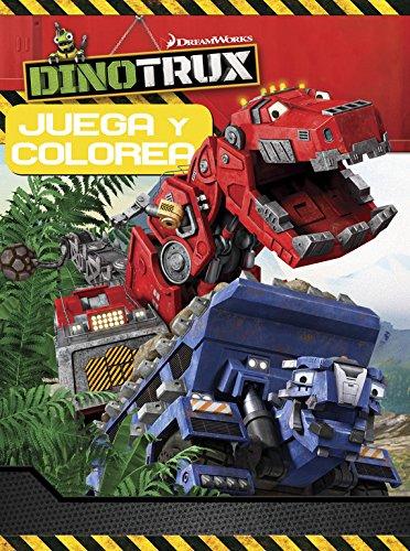 Juega Y Colorea. Dinotrux. Actividades