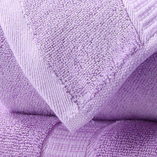 fibra di bambù asciugamani tre insiemi di spessore assorbimento acqua naturale ( Colore : 7 ) 2