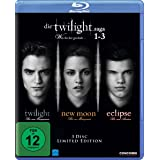 Die Twilight Saga 1-3 - Was bis(s)her geschah... [Blu-ray]