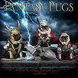 Fantasy Pugs - Phantasievolle Möpse 2019 - 16-Monatskalender (Wall-Kalender)