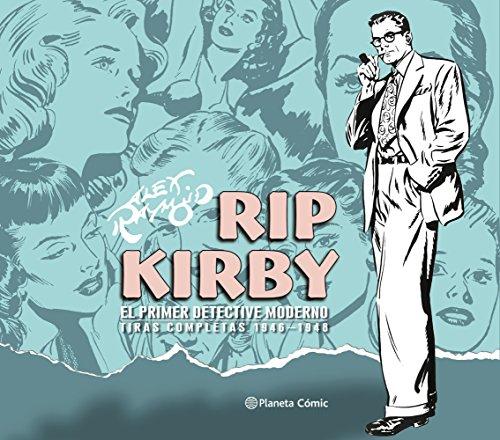 Rip Kirby de Alex Raymond nº 01/04: El primer detective moderno. Tiras completas 1946-1948 (Cómics Clásicos) por Alex Raymond