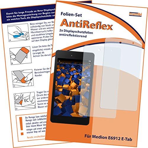 mumbi Schutzfolie kompatibel mit Medion E6912 E-Tab Folie matt, Displayschutzfolie (2x)