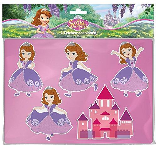 -Schablonen Disney's Sofia die Erste (Sofia Die Erste Outfit)