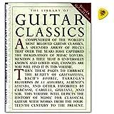 Library of Guitar Classics-Collection bekannter Guitare classique morceaux pour guitare solo-Note livre avec Dunlop plek-Verlag Music Sales-am928950-9780825614750