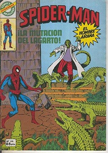 Comics Bruguera: Spiderman numero 46 (numerado 1 en trasera)