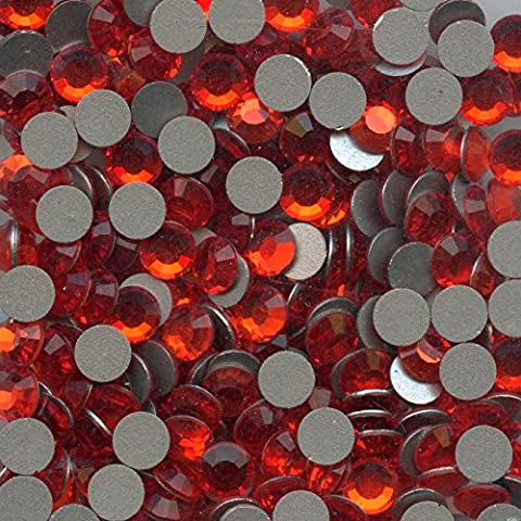 2012SS20HY * * * 40brillantes Swarovski fondo plano no Hotfix 4,7mm Hyacinth