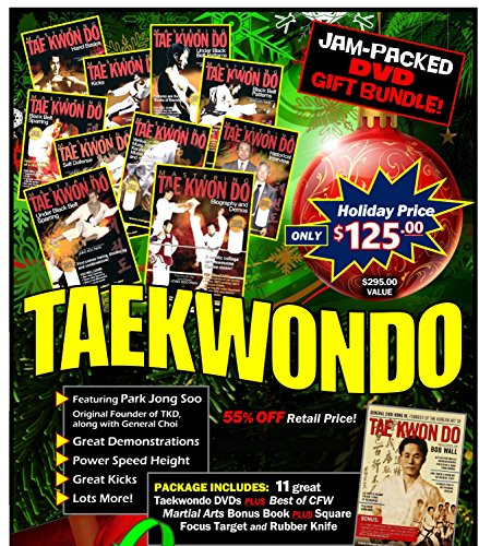 Taekwondo Korean Karate HOLIDAY Gift Set 11 DVDs + Focus Mitt & More! $295 Value Mitt-set