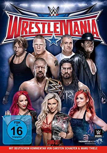 WWE - Wrestlemania XXXII [3 DVDs] - Wwe-wrestlemania