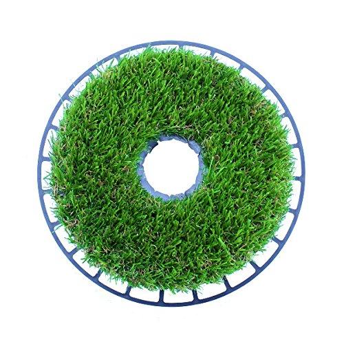 Grasscalm (Kunst) Rasenkante, Mähkante, Stangeneinfassung, Lampeneinfassung, Sprinklerschutz