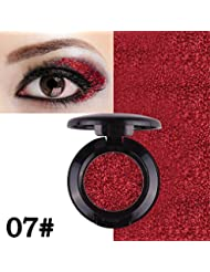 Oyalaiy 24 couleurs Presse Glitters Ombre ¨¤ paupi¨¨res Diamond Rainbow Shimmer Ombre ¨¤ paupi¨¨res Palette