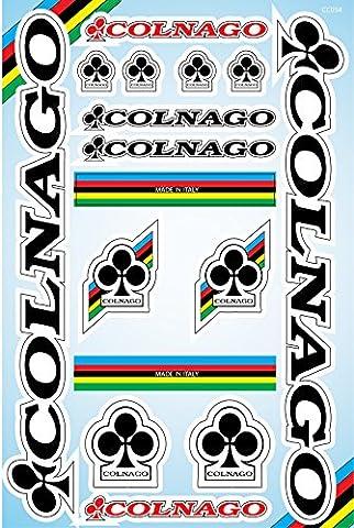 Colnago Fahrradrahmen Aufkleber Aufkleber Grafik Set Vinyl Adesivi