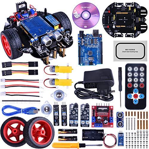 Coche Robótica, Quimat Robot ArduinoIDE con Tutorial de Vídeo en Castellano, Control Remoto