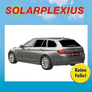 Solarplexius Sonnenschutz Autosonnenschutz Scheibentönung Sonnenschutzfolie 5 Touring F11 Bj 10 17 Auto