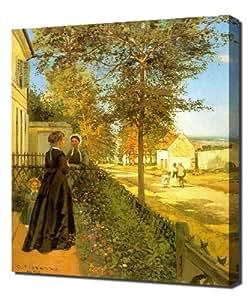 Camille Pissarro - Louveciennes The Road To Versailles - Reproduction d'art sur toile