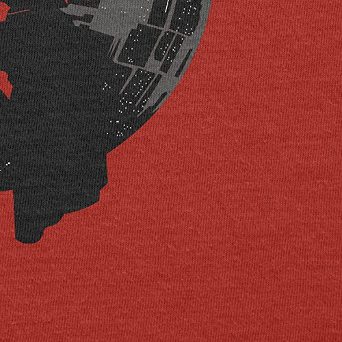 TEXLAB - Darthworks - Herren Langarm T-Shirt Rot