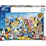 Educa Borrás 11978 - 1000 El Maravilloso Mundo De Disney