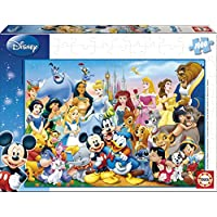 Educa Borras Puzzle The Wonderful World of Disney (1000 Pieces)